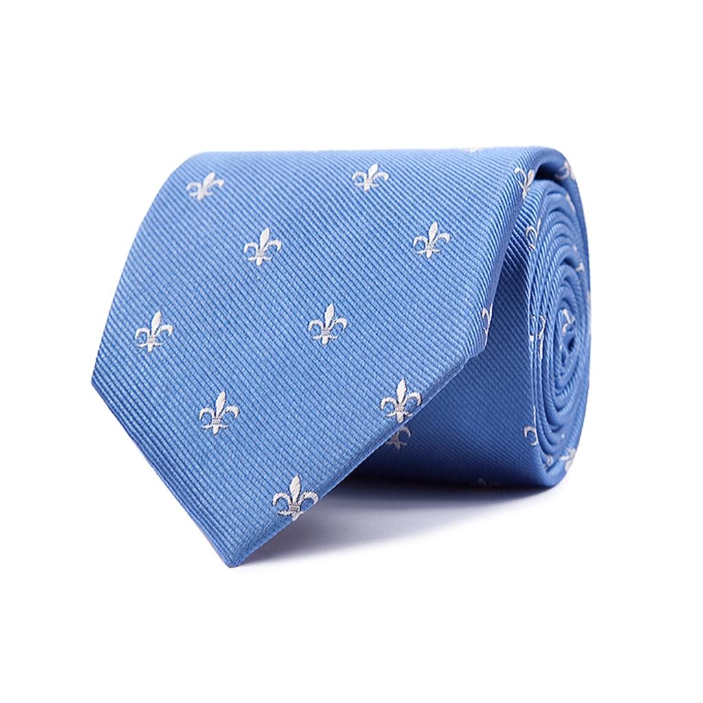 topos de la flor de lis corbata y pa/ñuelo para hombre