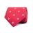 CBT-26806-108 · Red and Light Blue fleur-de-lis tie · Red · 19.90€