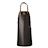 CL-VL05 · DARK BROWN LEATHER APRON · Dark brown · 119.90€