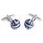 E021-01-03 · Gemelos esmalte azul · Celeste azul marino · 17,90€