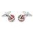 E021-ITA · Gemelos esmalte · Verde rojo · 15,90€