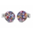 XCM-001 · Murano glass cufflinks · Multicolored · 39.00€