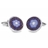 XCM-003 · Murano glass cufflinks · Blue · 39.00€